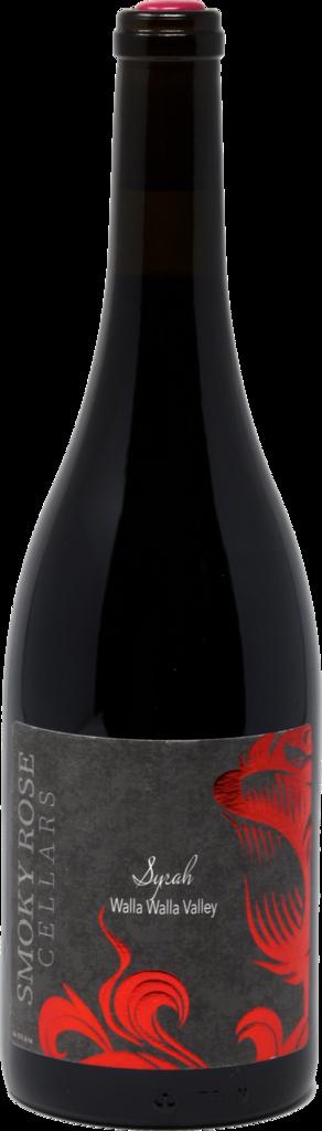 Smoky Rose Cellars Syrah Bottle Preview