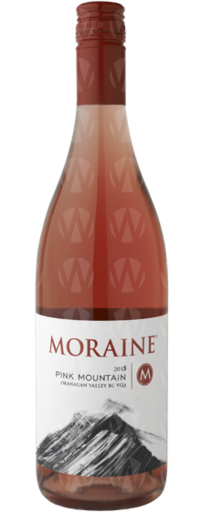Moraine Estate Winery Pink Mountain Rose