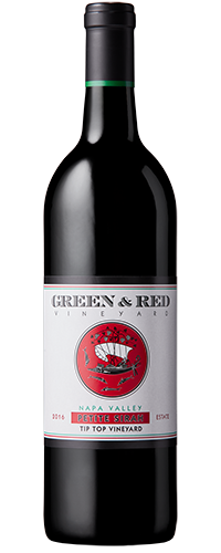 "Green & Red Vineyard Petite Sirah ""Tip Top Vineyard"" Estate Grown & Bottled Bottle Preview"
