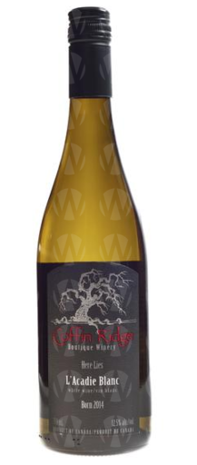 Coffin Ridge Boutique Winery L'Acadie Blanc