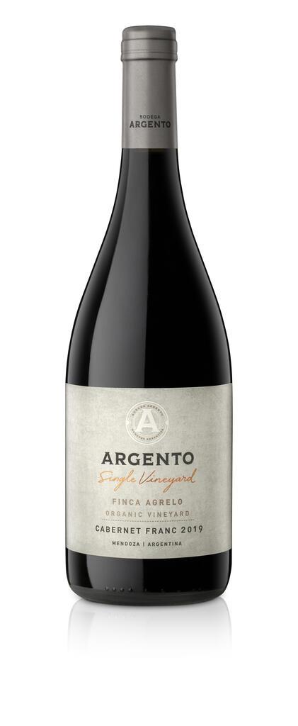 Bodega Argento Argento Single Vineyard Agrelo Cabernet Franc Bottle Preview