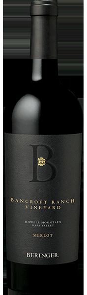 Beringer Vineyards Beringer Bancroft Ranch Merlot Bottle Preview