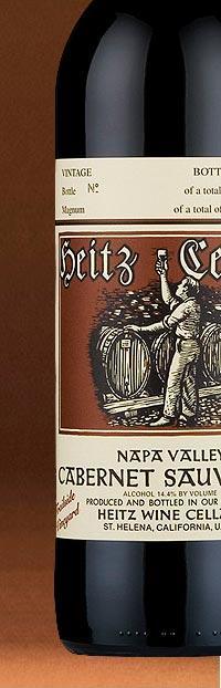 Trailside Vineyard Cabernet Bottle