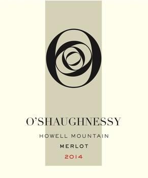 O'Shaughnessy Estate Winery Howell Mountain Merlot Bottle Preview