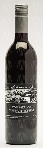 Mt. Lehman Winery Merlot Reserve Platinum