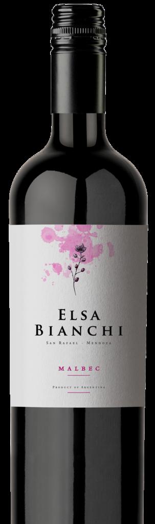 ELSA BIANCHI Malbec Bottle