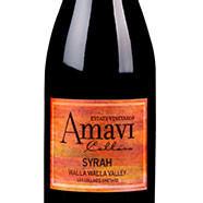 Amavi Cellars Les Collines Syrah Bottle Preview