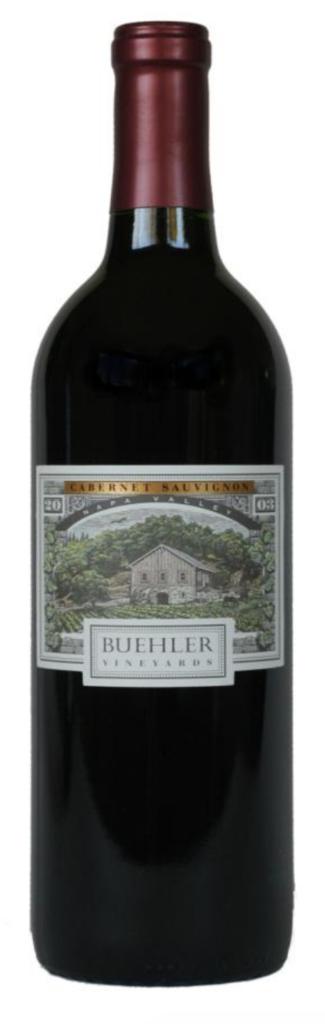 Buehler Vineyards Cabernet Sauvignon Bottle Preview
