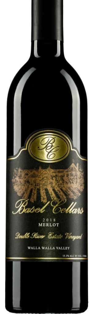 Yellowhawk 2018 Merlot Bottle Preview