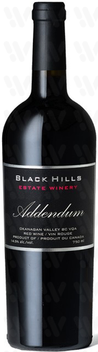 Black Hills Estate Winery Addendum
