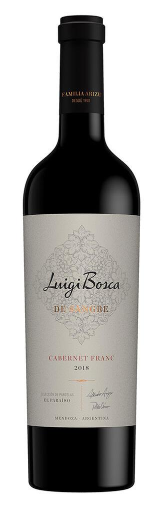Luigi Bosca De Sangre · Cabernet Franc Bottle Preview