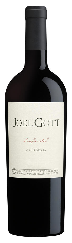 Joel Gott Wines Joel Gott Zinfandel Bottle Preview