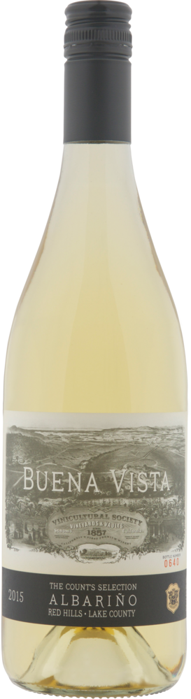 Buena Vista Winery Count's Selection Albarino Bottle Preview