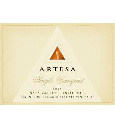 Artesa Winery Estate Vineyard Block 91D Pinot Noir Bottle Preview