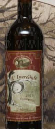 Vignoble aux Pieds des Noyers L'incrédule
