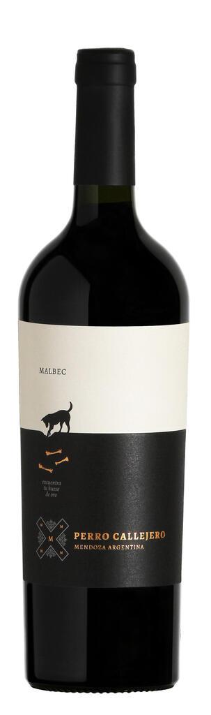 Perro Callejero Malbec Bottle