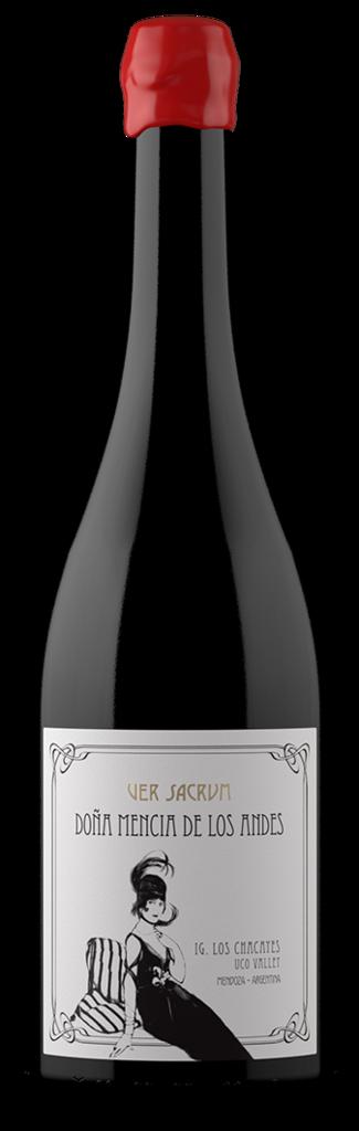 Ver Sacrum Wines Doña Mencía de los Andes Bottle Preview