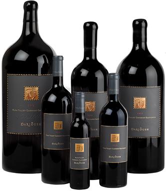 Darioush Winery SIGNATURE CABERNET SAUVIGNON, NAPA VALLEY Bottle Preview