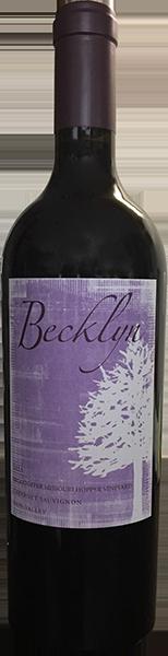 Becklyn Cellars Missouri Hopper Vineyard Cabernet Sauvignon Bottle Preview
