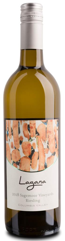 Lagana Cellars Sagemoor Vineyards Riesling Bottle Preview