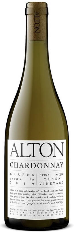 Alton Wines Chardonnay Bottle Preview