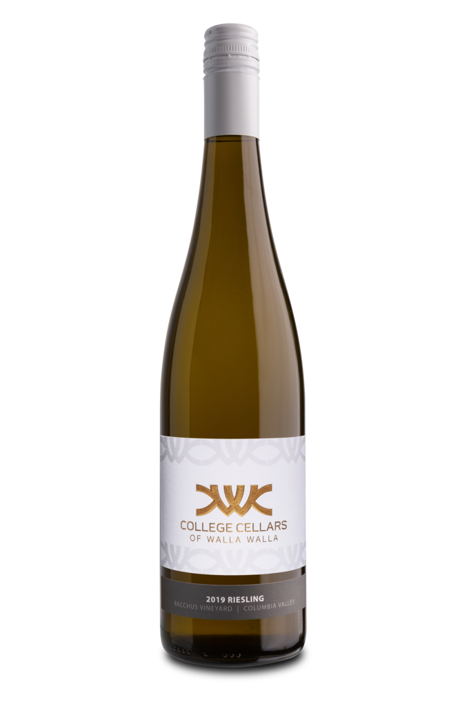 College Cellars of Walla Walla Riesling Bottle Preview