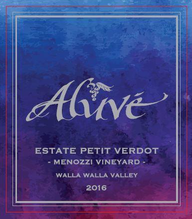 ALUVÉ Estate Petit Verdot Bottle Preview