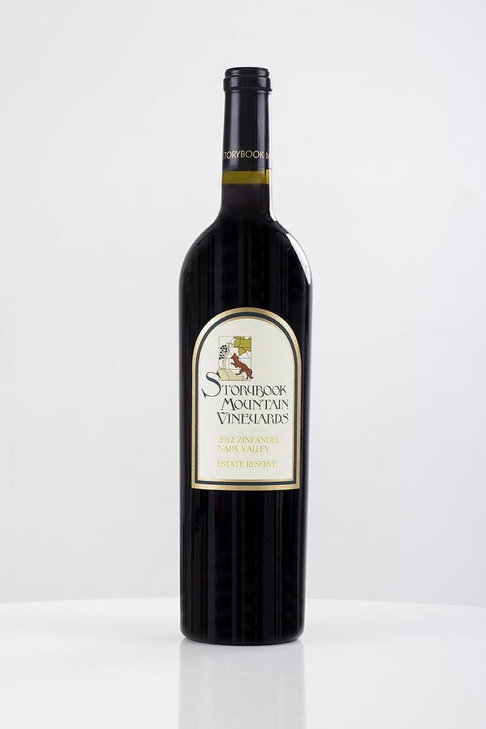 Storybook Mountain Vineyards Estate Reserve Zinfandel Bottle Preview