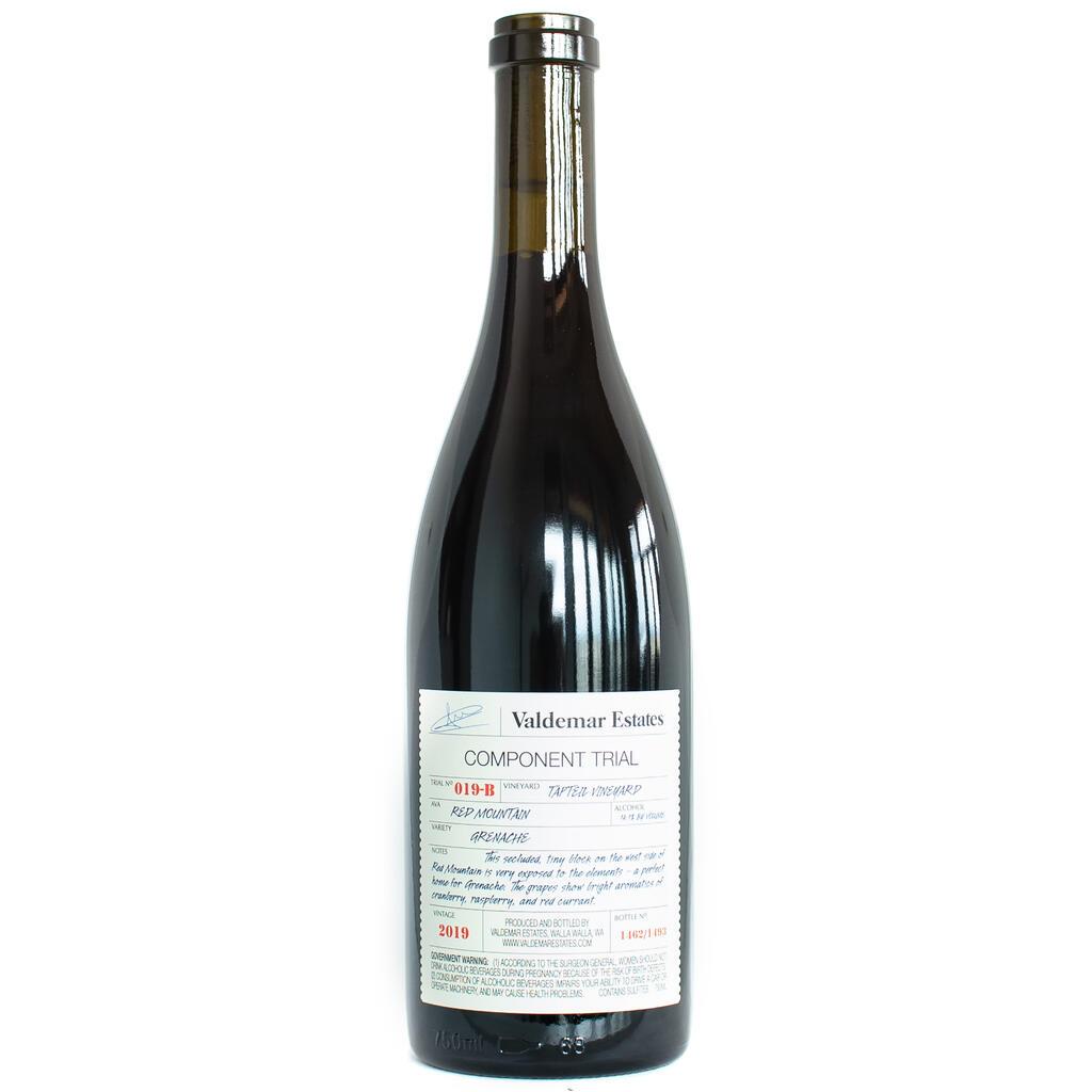 Valdemar Estates Tapteil Vineyard Grenache Bottle Preview