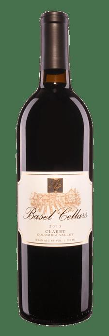 Basel Cellars Estate Winery Claret Bottle Preview