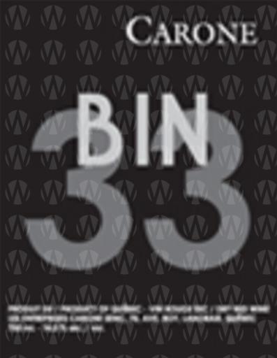 Bin33 Rouge