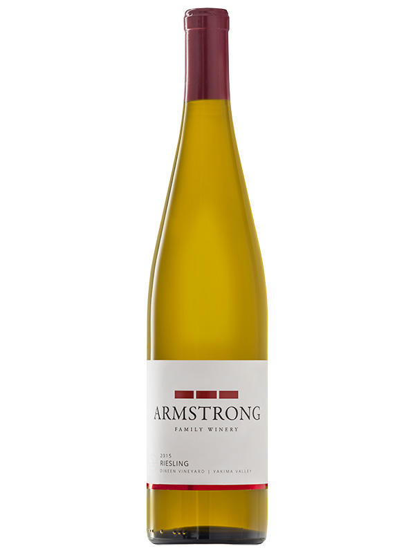Armstrong Family Winery Riesling Bottle Preview