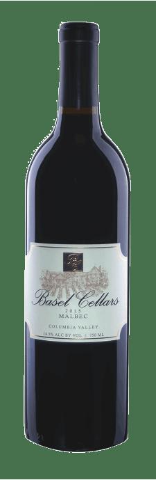 Basel Cellars Estate Winery Malbec Bottle Preview