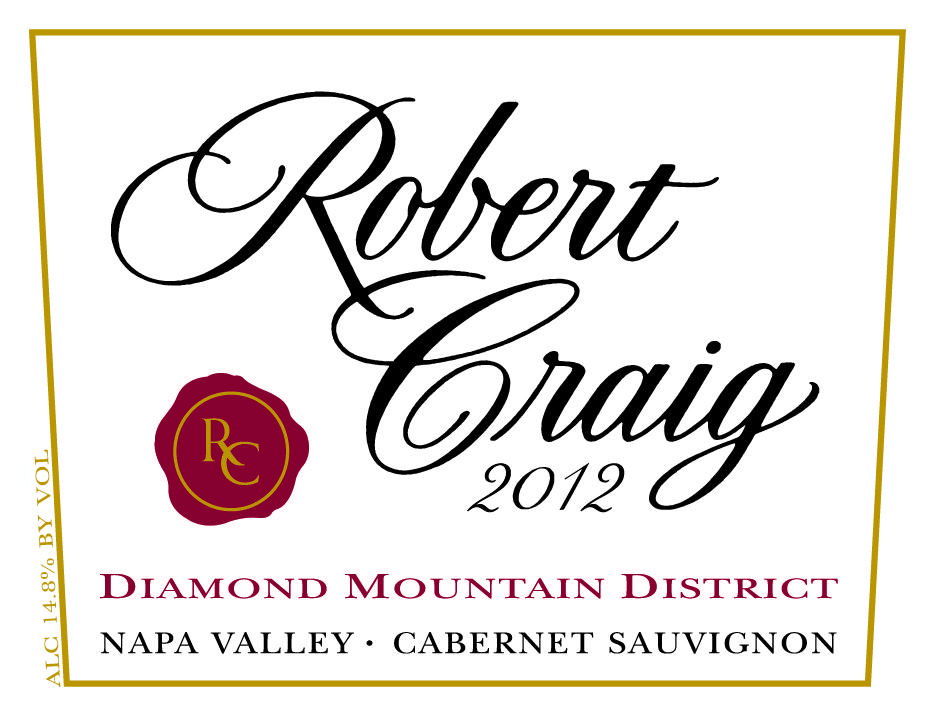 Robert Craig Winery Diamond Mountain District Cabernet Sauvignon Bottle Preview
