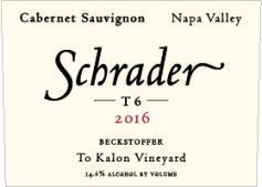 Schrader Cellars T6 Cabernet Sauvignon Bottle Preview
