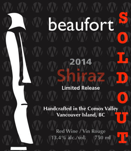 Beaufort Vineyard & Estate Winery Shiraz