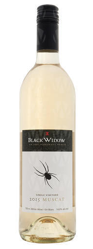 Black Widow Winery Single Vineyard Muscat Ottonel