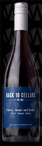 Back 10 Cellars Blood Sweat and Years Pinot Noir