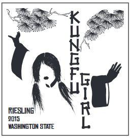 House of Smith Kung Fu Girl Riesling Bottle Preview