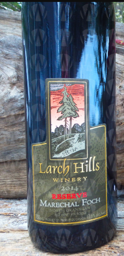 Larch Hills Vineyard and Winery Marechal Foch Special Reserve