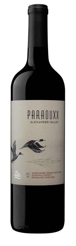 Paraduxx Winemaker Series Red Wine Ridgeline Vineyard Bottle Preview