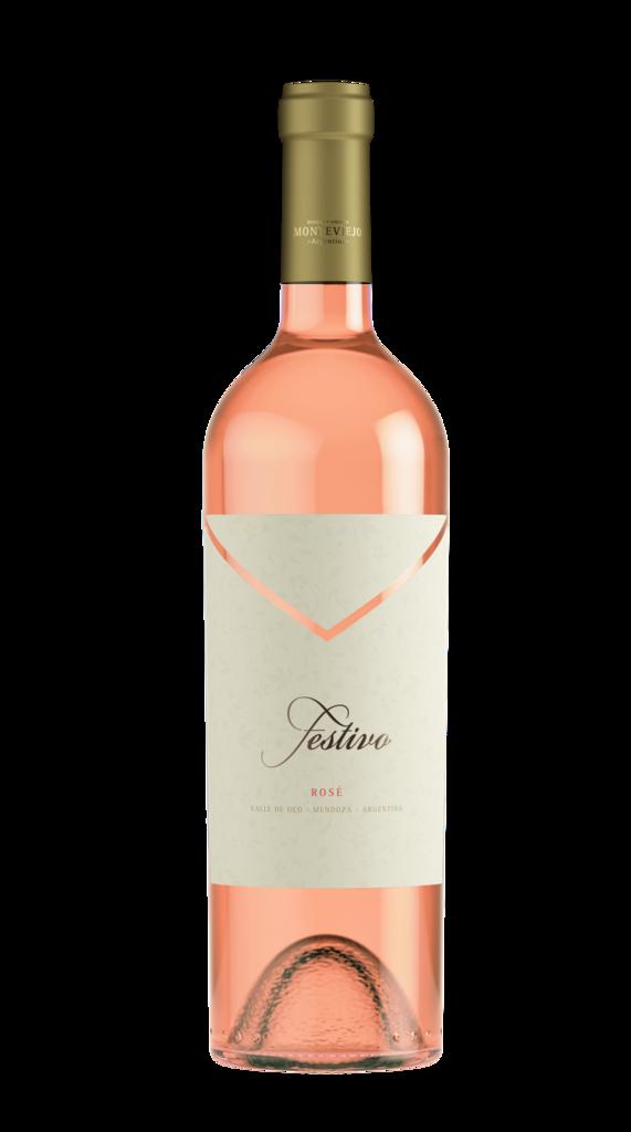 Bodega Monteviejo Festivo Rosé Bottle Preview