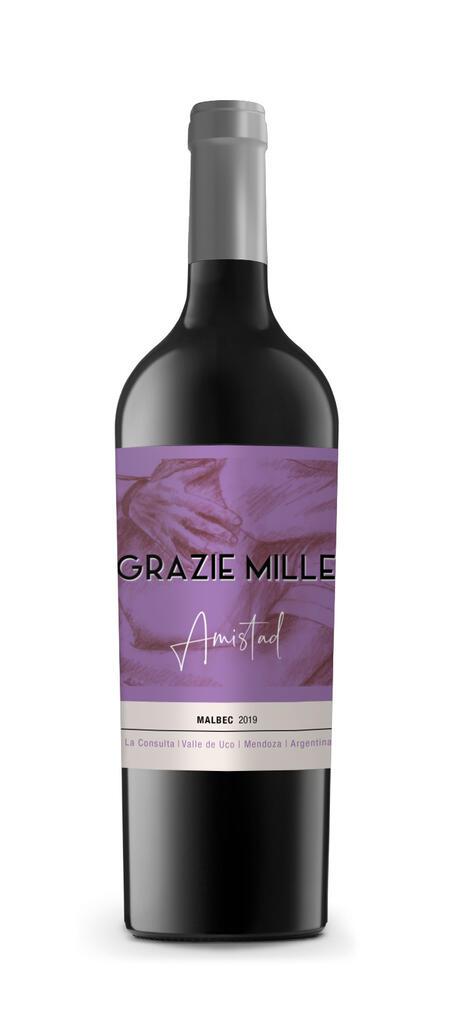 Linea Amistad - Malbec Bottle