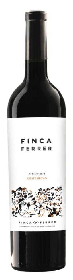Finca Ferrer Range Syrah Bottle