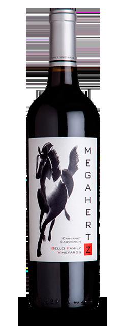 Bello Family Vineyards Megahertz Cabernet Sauvignon Bottle Preview