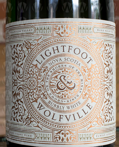 Lightfoot  & Wolfville Vineyards Bubbly White