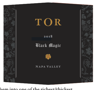 TOR Wines Black Magic Bottle Preview