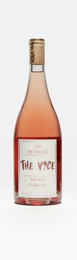 The Vice Napa Valley Wines Rosé of Pinot Noir Bottle Preview