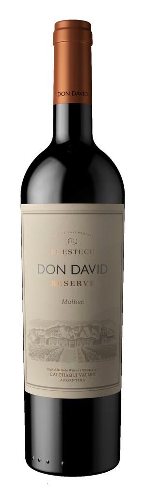 El Esteco Don David Reserva Malbec Bottle Preview