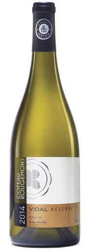 Vignoble Coteau Rougemont Vidal Réserve Vin Blanc